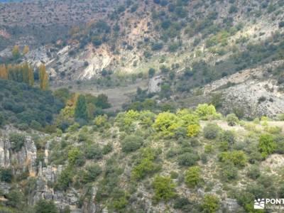 Alcarria_Barranco Reato_La Tajera; castillo de cuéllar cueva de montesinos el chorro navafria carnav